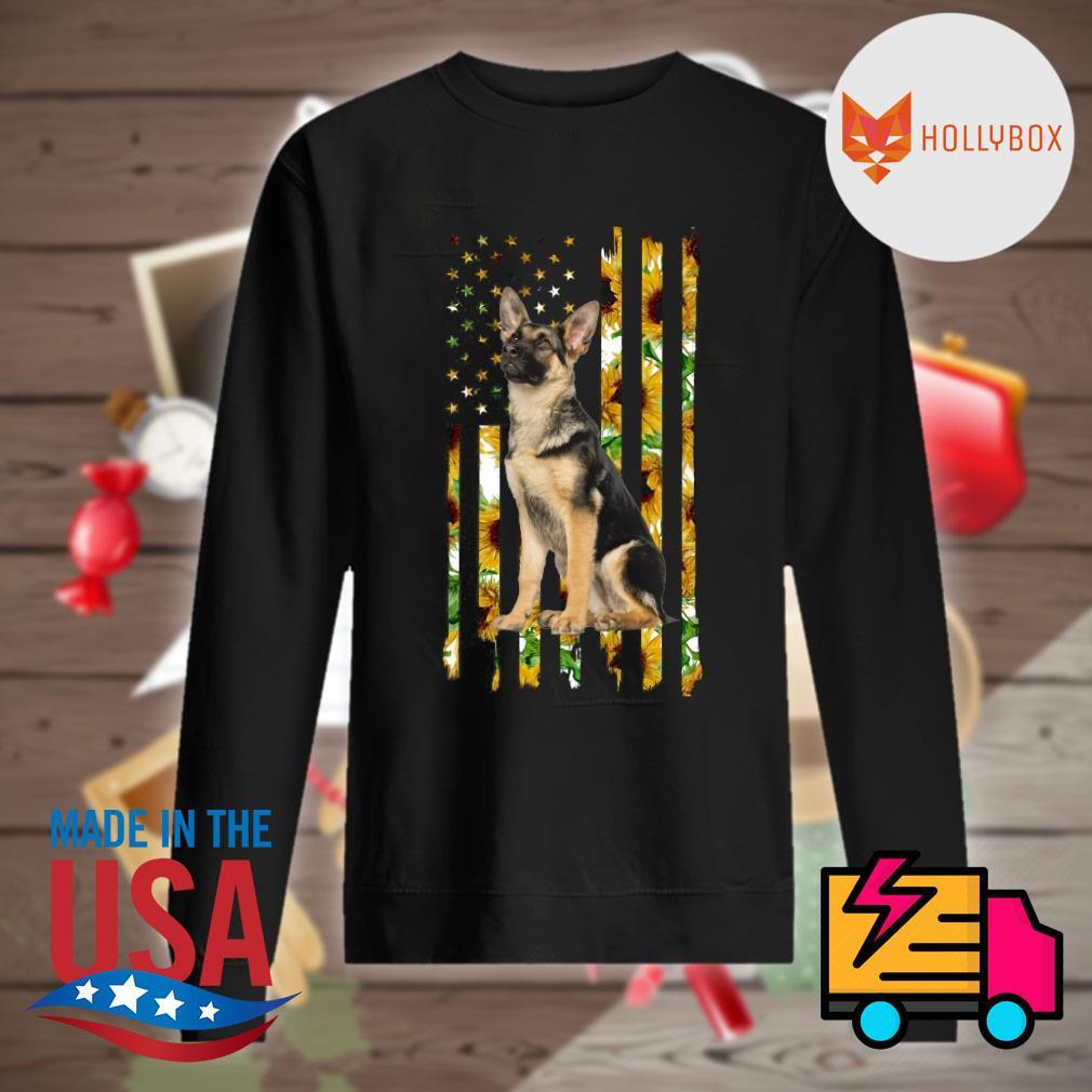 German Shepherd sunflower s Sweater